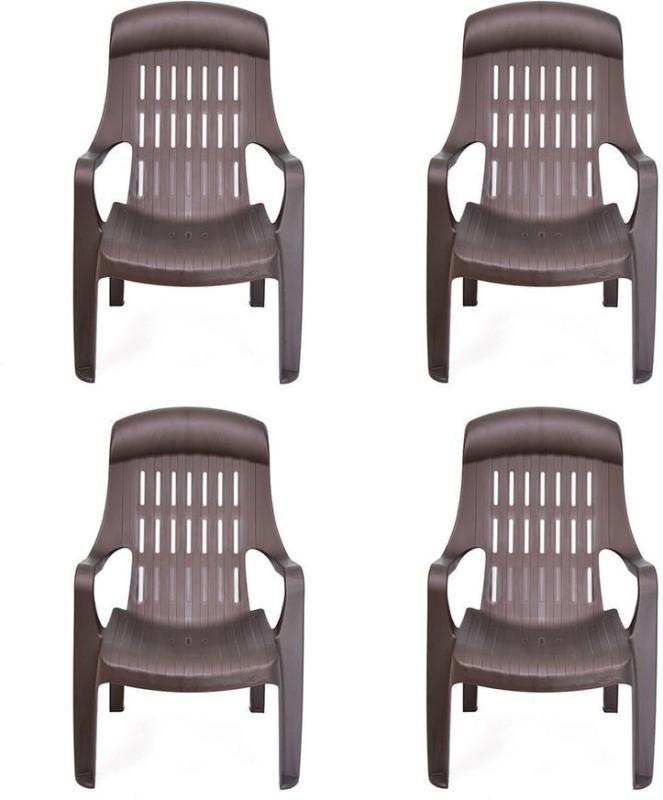 Nilkamal Weekender Plastic Outdoor Chair(Finish Color - NA)