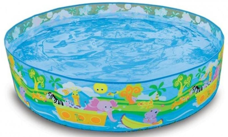 Intex Snapset 4 Feet Kids Water Pool Bath Tub Swimming Pool(Multicolor)