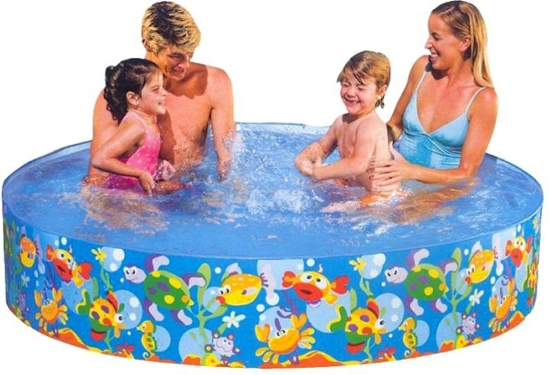 Intex Fun Swimming Pool-6ft(Blue)