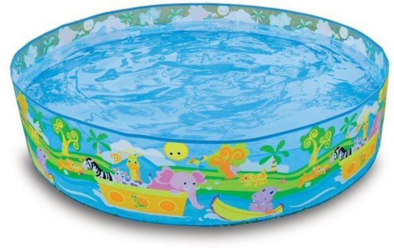 Intex Swimming -4ft pool Inflatable Pool(Blue)