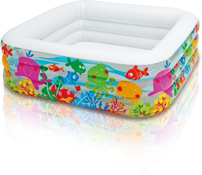 Intex Swim Centertm Clearview Aquarium Pool(Multicolor)
