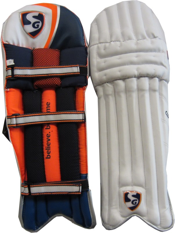 SG Club Boys (32 - 35 cm) Batting Pad(Multicolor, Right-Handed)