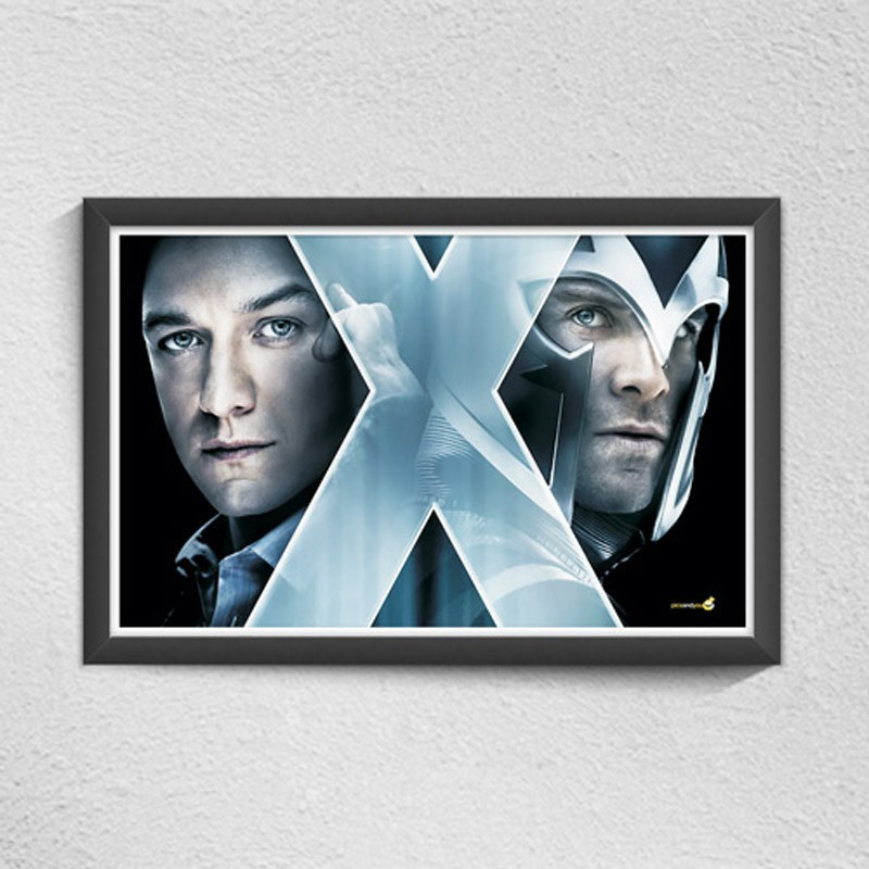Pics and You X Men Digital Reprint Painting(12 inch x 18 inch)