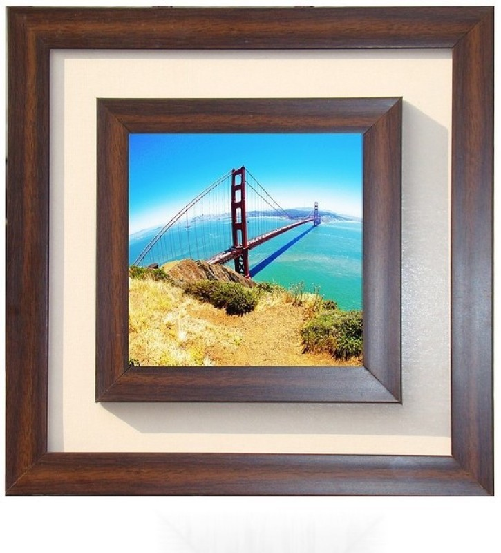 Lila Painting DVL- L- 647 With Wooden Frame Canvas Art(18 inch X 18 inch)