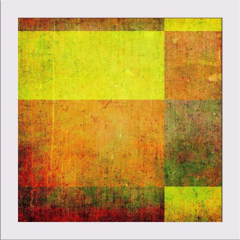 Artzfolio Abstract Artwork Framed Art Print Digital Reprint Painting(10.0 inch x 10.0 inch)