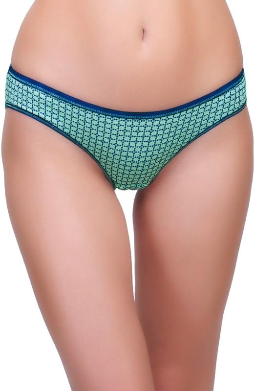 Inner Sense Womens Thong Blue Panty(Pack of 1)