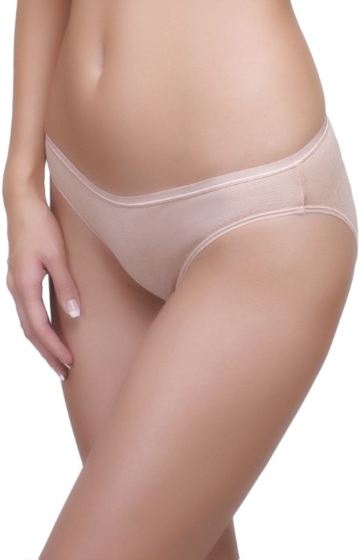 Inner Sense Womens Bikini Beige Panty(Pack of 1)