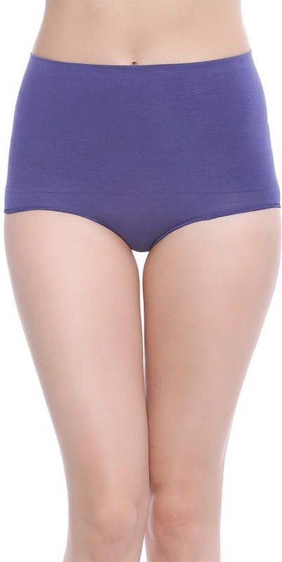 Zivame Womens Thong Blue Panty(Pack of 1)