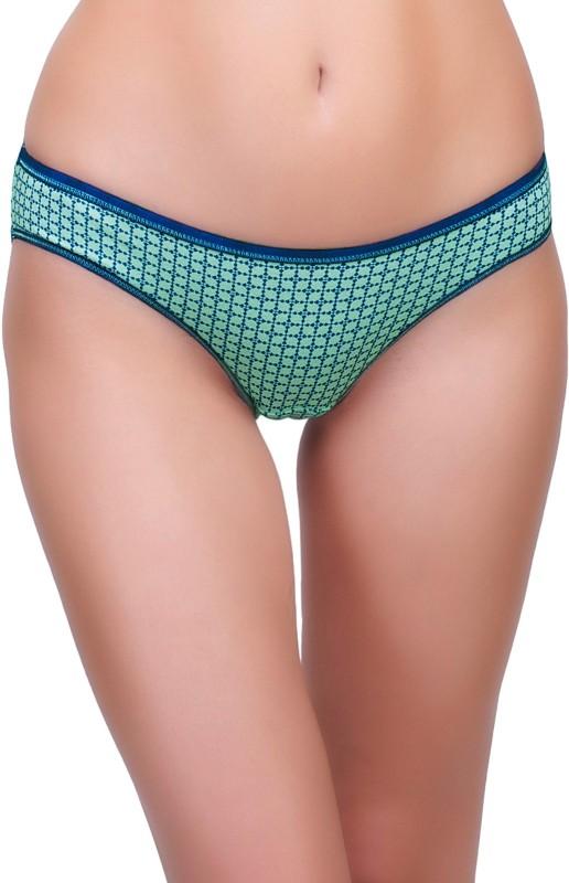 Inner Sense Womens Bikini Blue Panty(Pack of 1)
