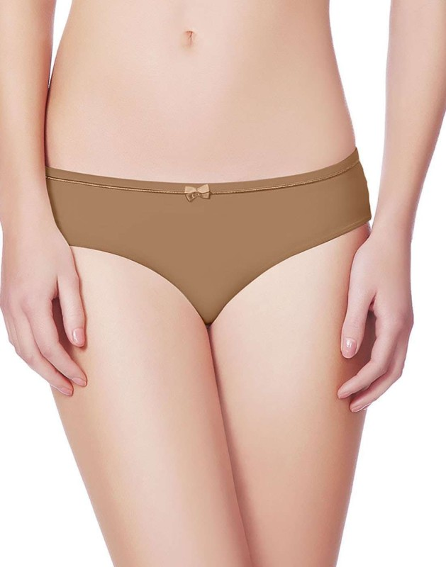 Amante Womens Hipster Brown Panty(Pack of 1)