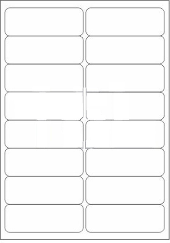 Novajet 16 A4 Size Sticker Paper Self-adhesive Paper Label(White)
