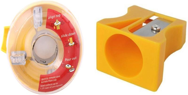 Pushcart NA Peeler Set(Multicolor Pack of 2)