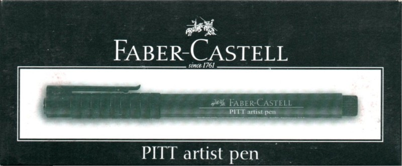 Faber-Castell PITT Artist Pen Marker Ink(Pack of 10)