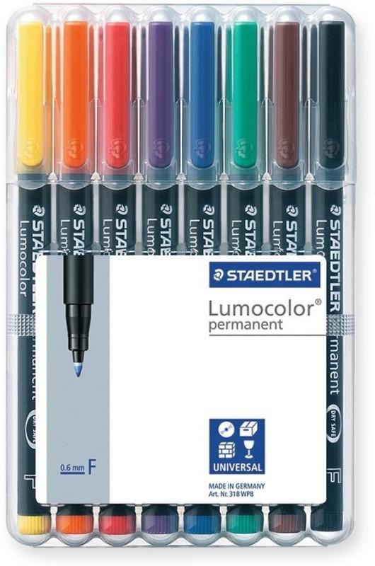 Staedtler Permanent Marker Ink(Pack of 8)