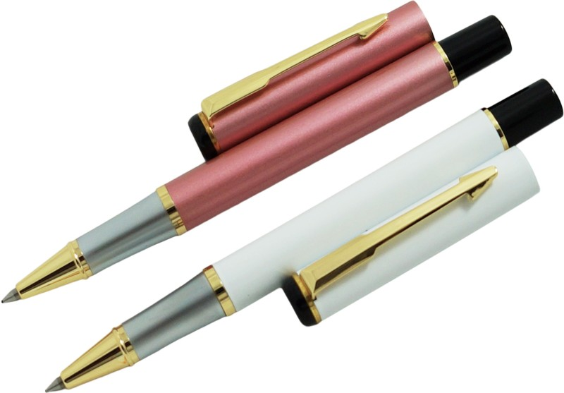 Auteur Executive Collection Copper and White Colour Pen Gift Set(Pack of 2)