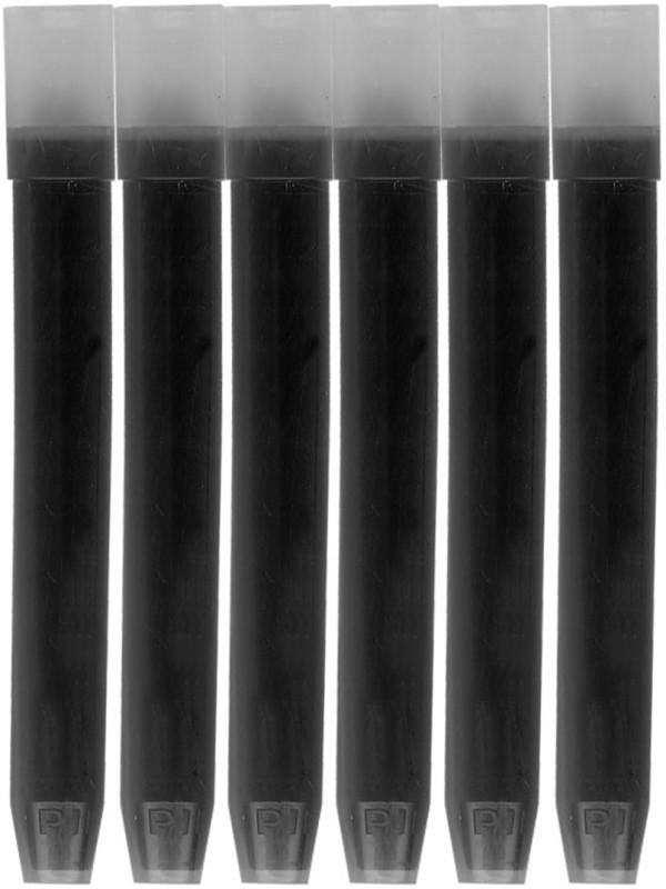 Pilot Black ( Pack of 6) Ink Cartridge(Pack of 6)