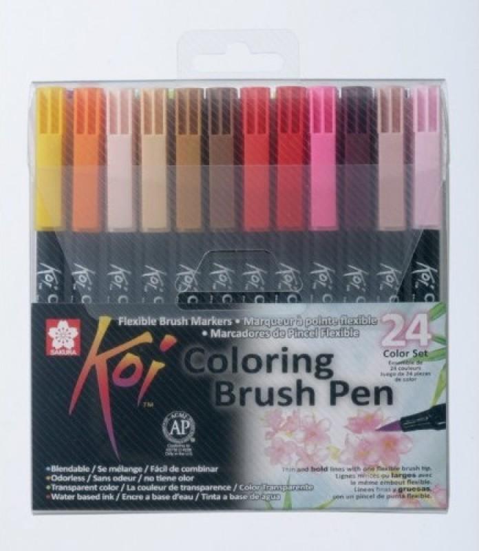 Sakura Koi Coloring Brush Calligraphy(Pack of 24)