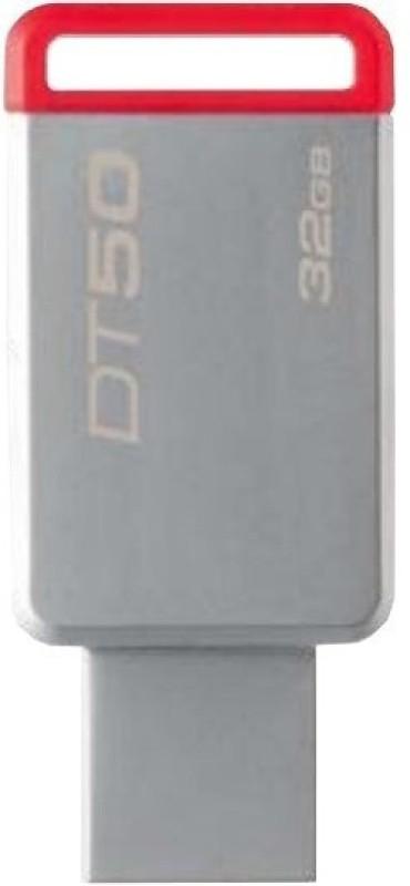 Kingston USB 3.0 Data Traveler 50- 32 GB Pen Drive(Grey)
