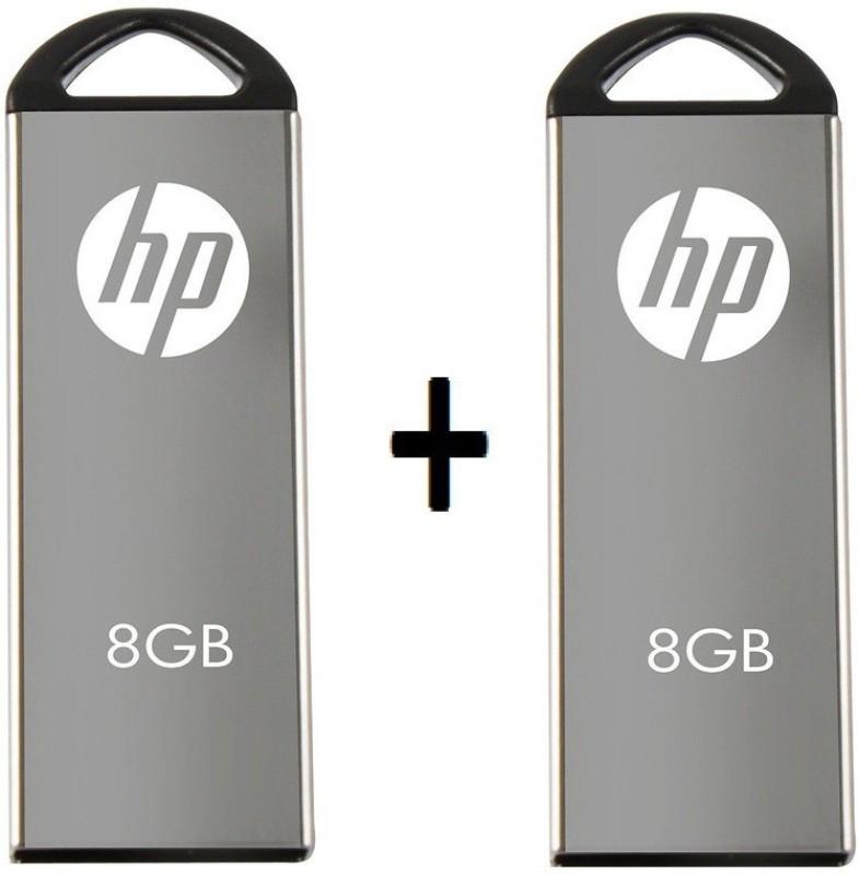 HP V220W 8 GB Pen Drive(Grey)