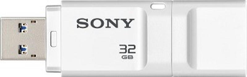 Sony USM-32X/WZ 32 GB Pen Drive(White)