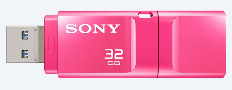 Sony Micro Vault 32 GB Pen Drive(Pink)