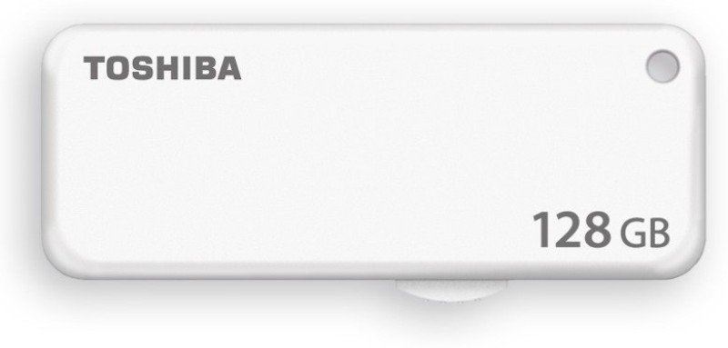 Toshiba U203 128 GB Pen Drive(White)