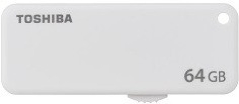 Toshiba U203 64 GB Pen Drive(White)