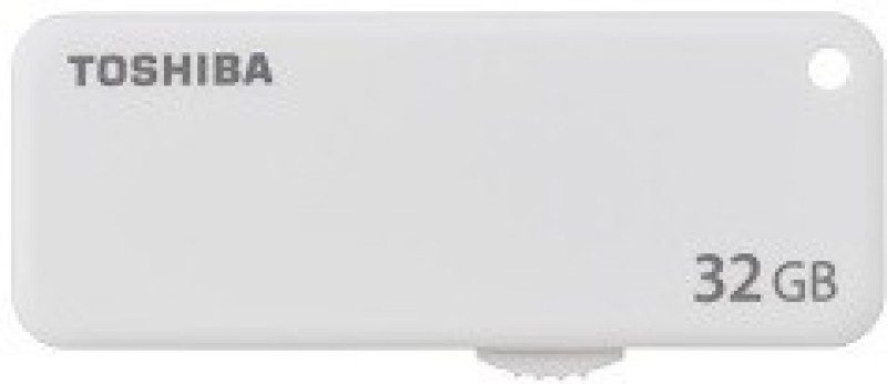 Toshiba U203 32 GB Pen Drive(White)