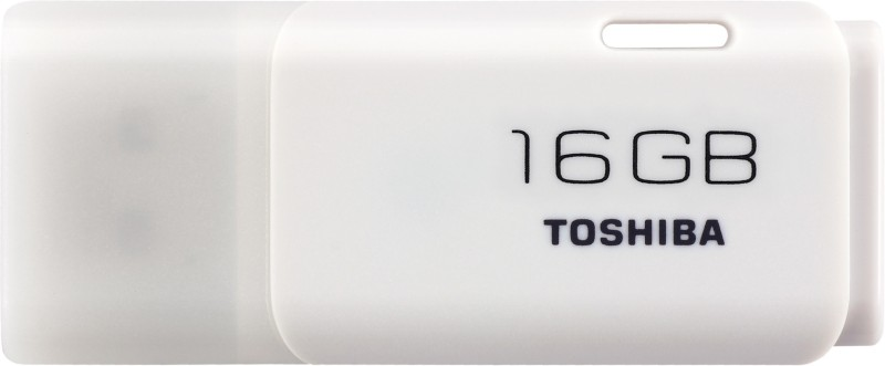 Toshiba TransMemory 16GB USB FLASH DRIVE(White)