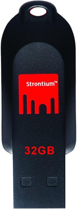 Strontium Pollex 32 GB Pen Drive(Black)