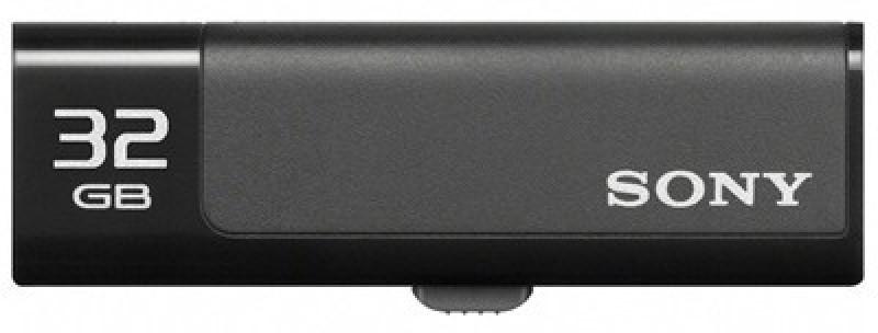 Sony Micro Vault USM32GN 32 GB Pen Drive(Black)