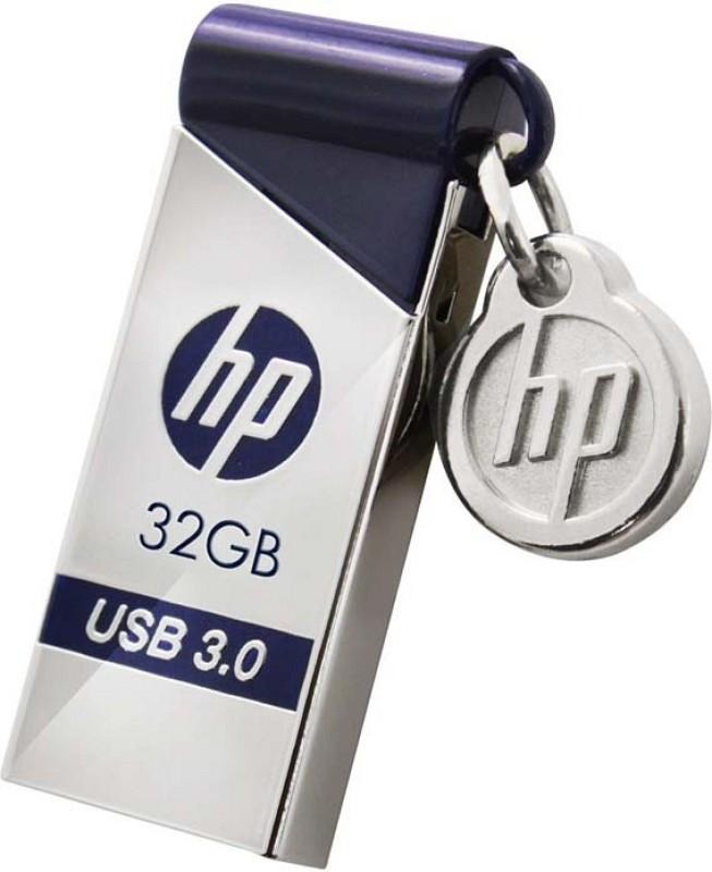 HP X715W Flash Drive 32 GB Pen Drive(Silver)
