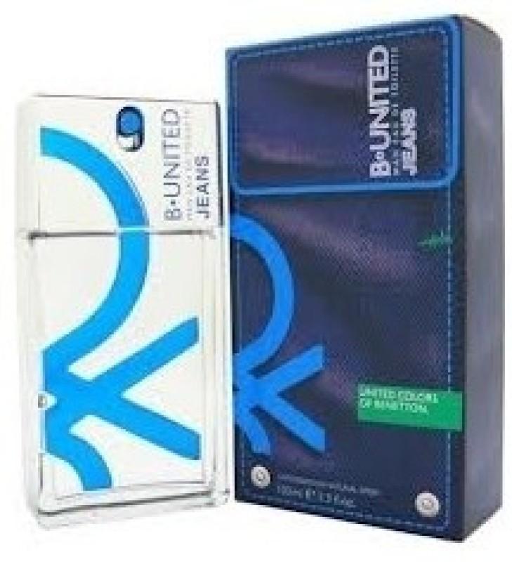Benetton B United Jeans EDT  -  100 ml(For Men) image