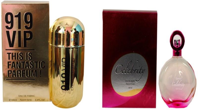Ramco 919 VIP and Celebrity Combo Eau de Parfum  -  200 ml(For Boys) image