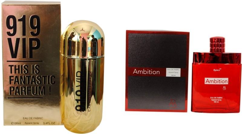 Ramco 919 VIP and Ambition Combo Eau de Parfum  -  200 ml(For Boys) image