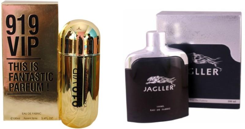 Ramco 919 VIP and Jagller Combo Eau de Parfum  -  200 ml(For Boys) image