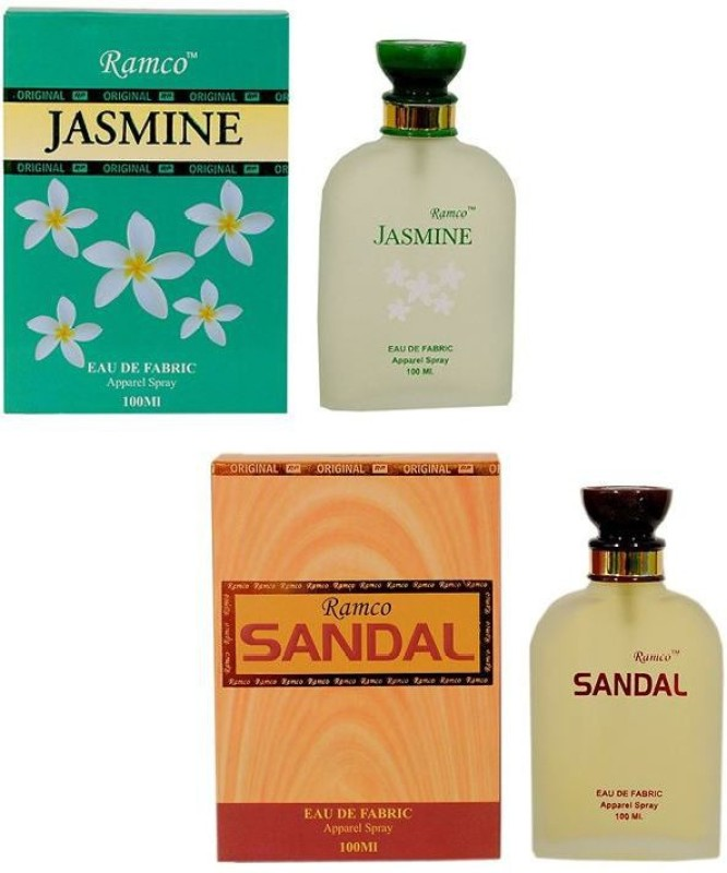 Ramco Jasmine and Sandal Combo Eau de Parfum  -  200 ml(For Boys) image