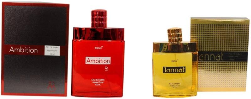 Ramco Ambition and Jannat Combo Eau de Parfum  -  200 ml(For Boys) image