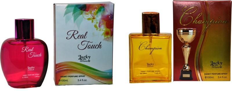 Lucky Real Touch & Champion Combo Eau de Parfum  -  200 ml(For Boys) image