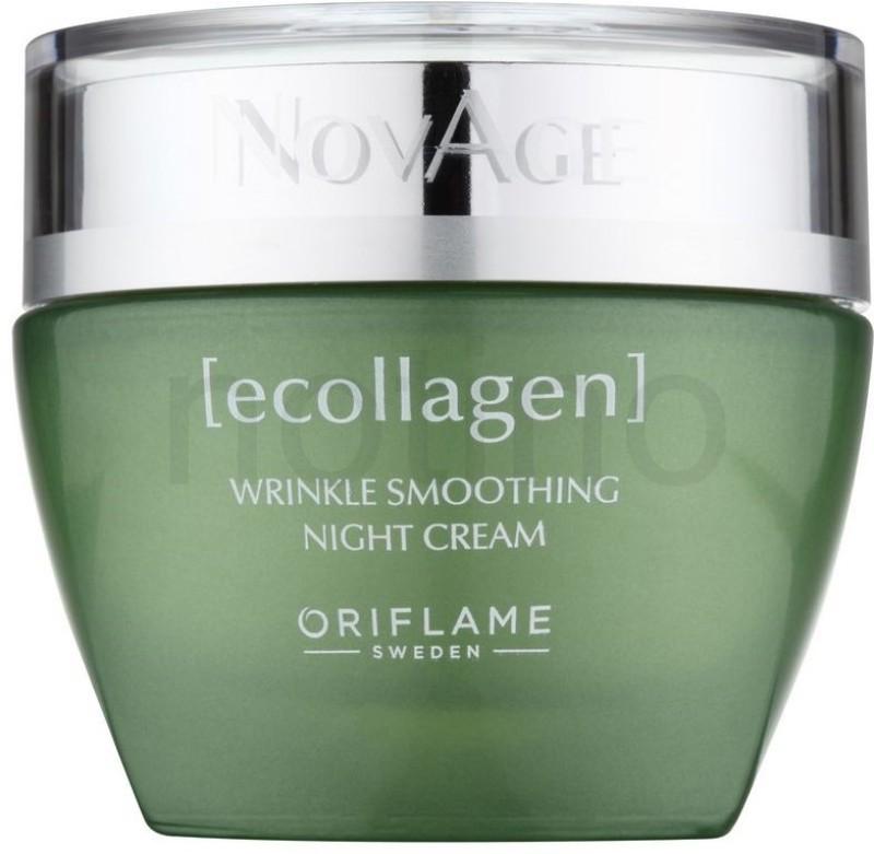 Oriflame Sweden novage ecollagen wrinkle smoothing night cream Eau de Cologne  -  50 ml(For Men & Women) image