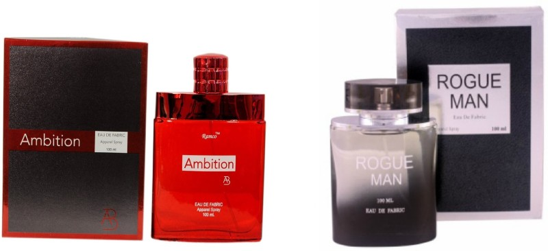 Ramco Ambition and Rogue Man Combo Eau de Parfum  -  200 ml(For Boys) image
