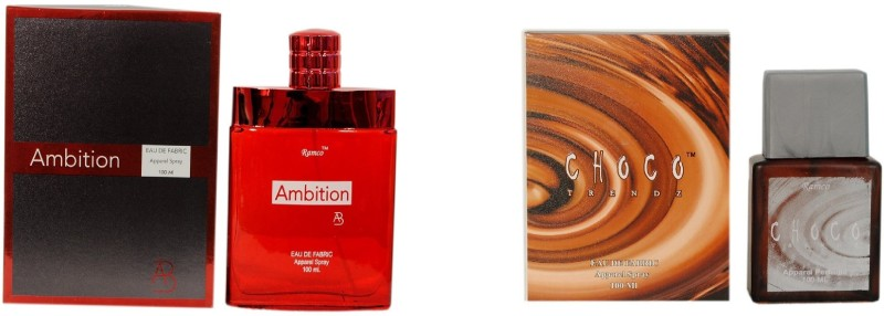 Ramco Ambition and Choco Trendz Combo Eau de Parfum  -  200 ml(For Boys) image