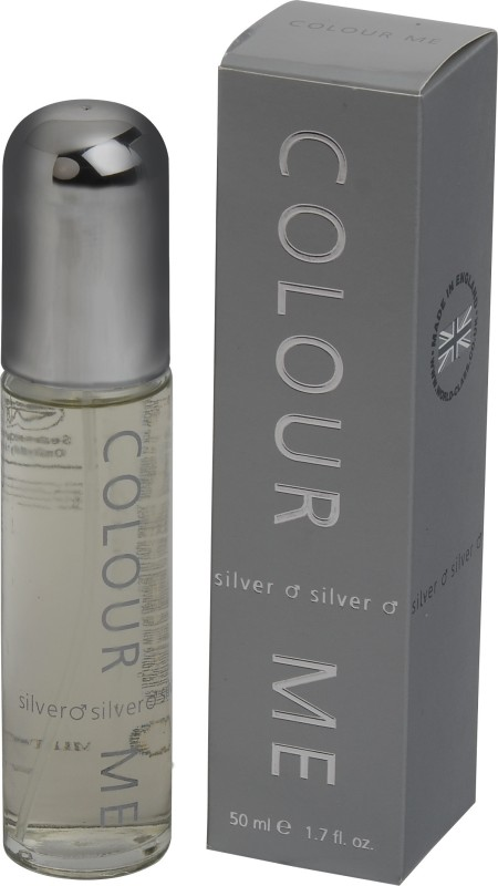 Colour Me Silver EDT  -  50 ml(For Men)