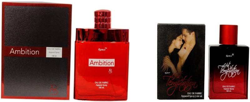 Ramco Ambition and Hot Temptation Combo Eau de Parfum  -  200 ml(For Boys) image