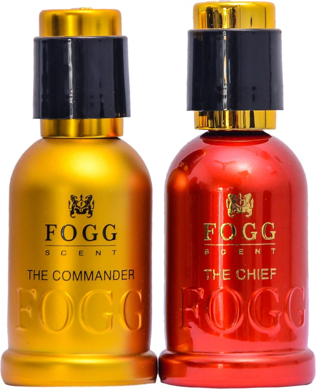 Fogg pack of 2 The Chief And Commander Deodorant Spray - For Men & Women(100 ml)
