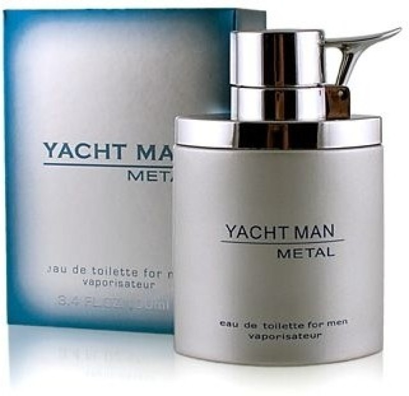 Myrurgia Yacht Man Metal EDT  -  100 ml(For Men) image