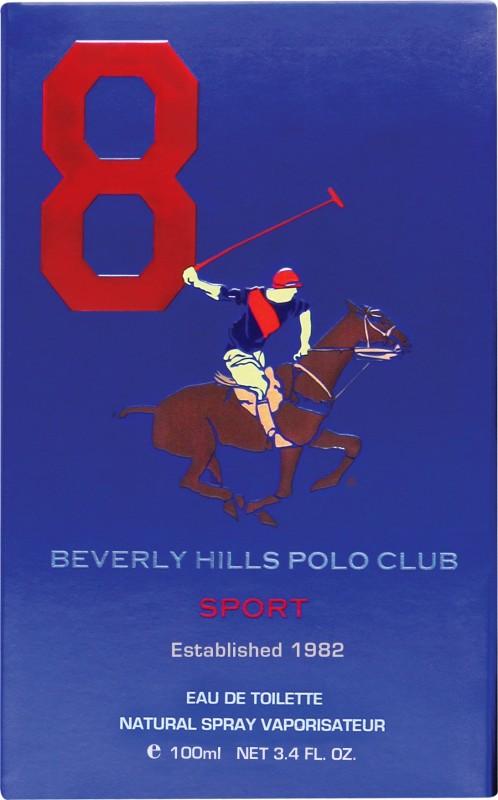 Beverly Hills Polo Club Sport No 8 Eau de Toilette  -  100 ml(For Men) image