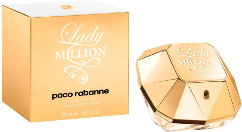 Paco Rabanne Lady Million EDT  -  50 ml(For Women) image