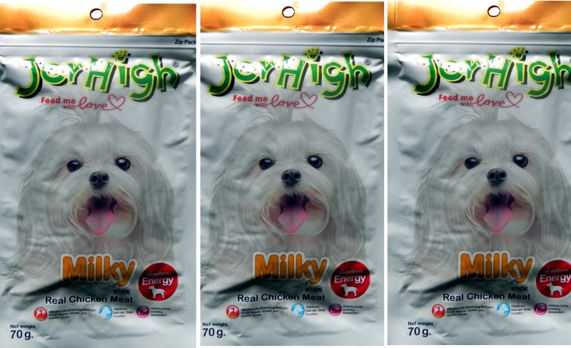 JerHigh Milky Chicken Dog Chew(70 g, Pack of 3)