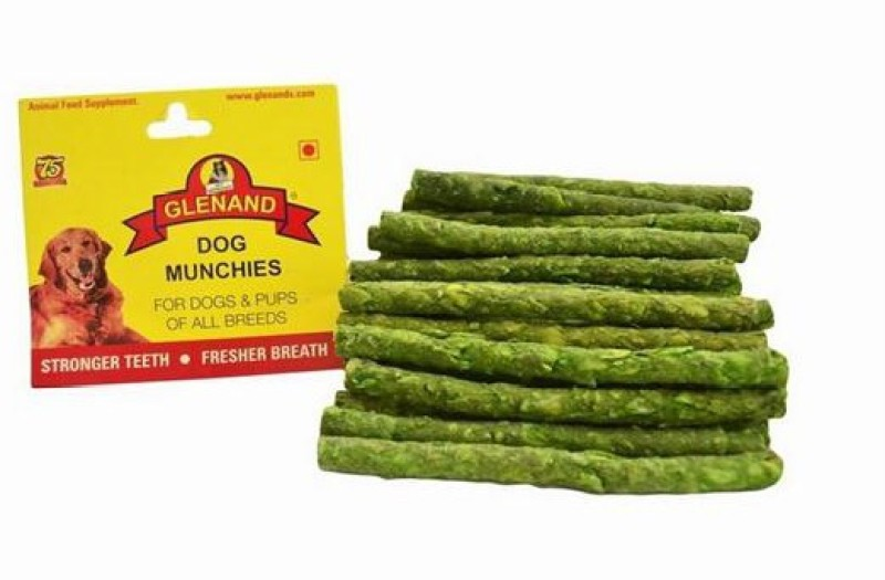 Glenand GLENAND DOG MUNCHIES 75G MINT (Pack Of 5) Mint Dog Chew(75 g, Pack of 5)